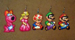 Perler Super Mario Bros 2 All-Stars Collection by Pika-Robo