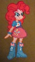 Pinkie Pie Equestria Girls perler craft