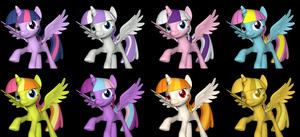 Alternate Costumes:  Twilight Sparkle