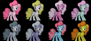 Alternate Costumes:  Pinkie Pie