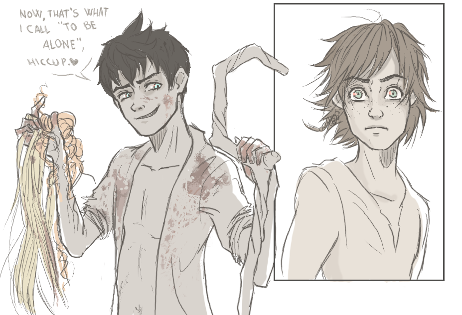 Dark!Jack And Hiccup By ASAMESHII On DeviantArt