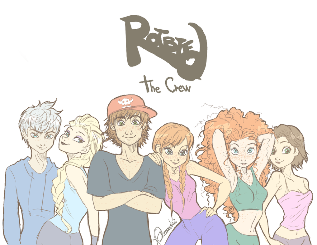 The crew by ASAMESHII