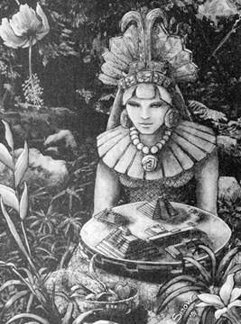 Maya Kali by kalianalyticaldevine