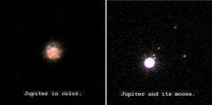 Direct Images of Jupiter