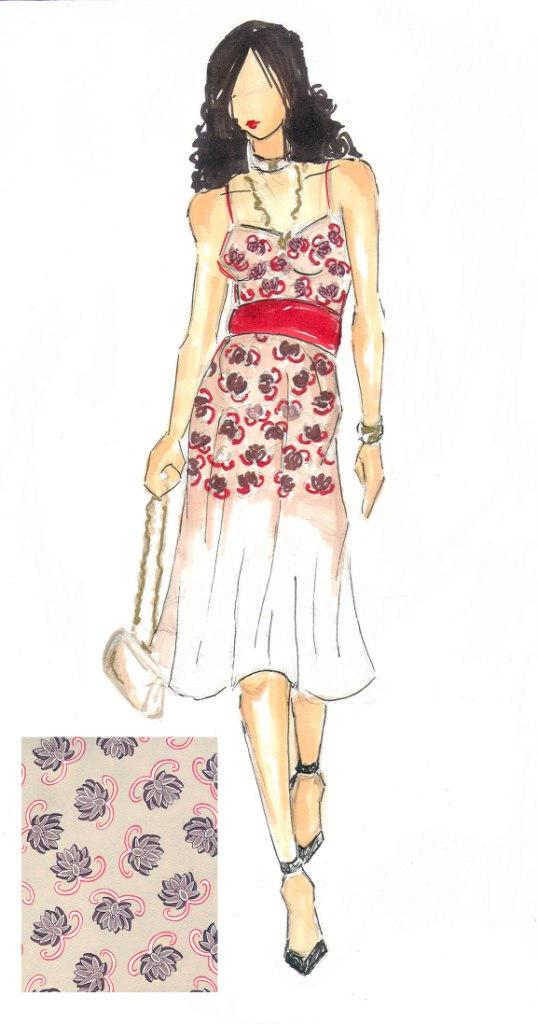Fashion Illustration: Print 2 by Lunatiger