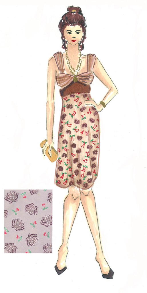 Fashion Illustration: Print 3 by Lunatiger
