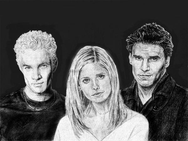 "Buffy ""the vampire slayer"" by saintaker"