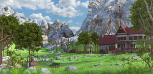Mountain House Landscape