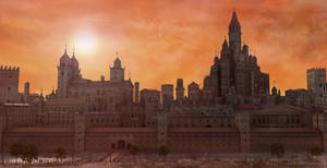Sunset Old City