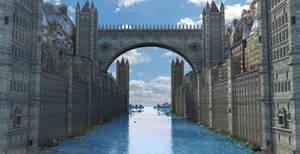 Fantasy Water Town