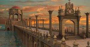 Sunset Classsic Temple