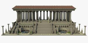 Classic temple