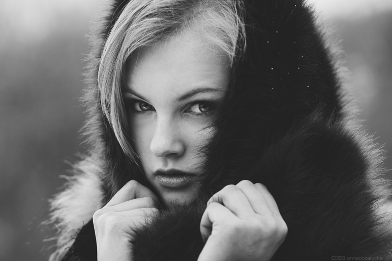 winter portrait by BlackCocktail