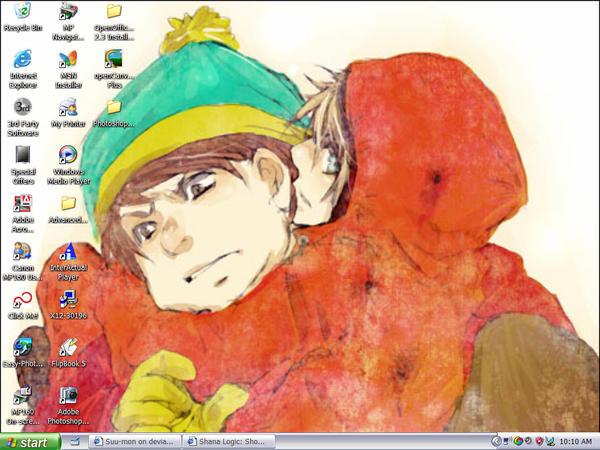 Desktop, plz. by Suu-mon