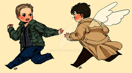 spn: let's run away together