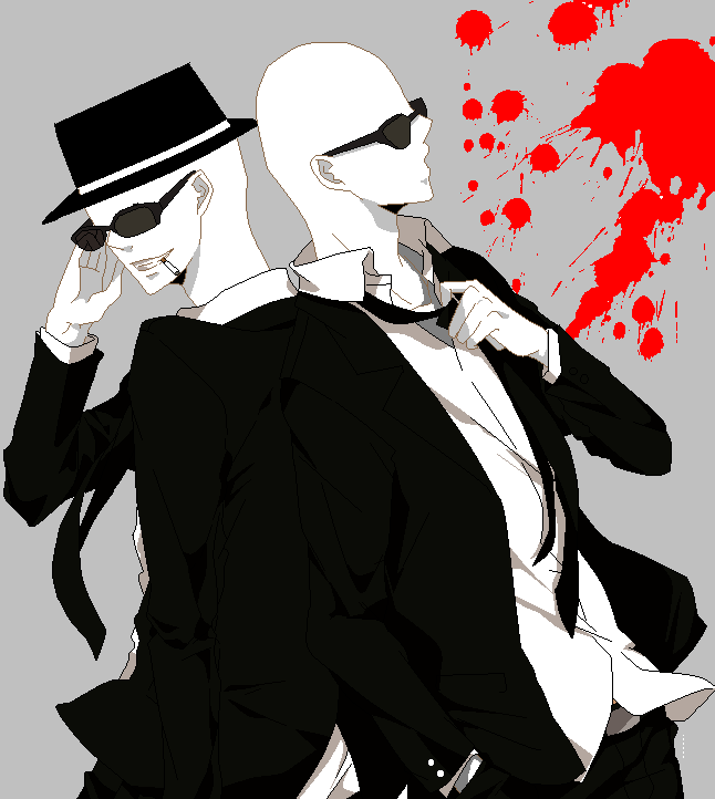 Slenderman and offenderman by slenderman93 on DeviantArt