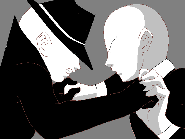 Offenderman Vs Slenderman by slenderman93 on DeviantArt
