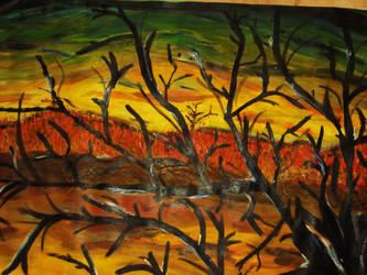 sad tree by Bombunniibon