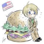 America doodle~