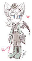 Rouge as Doitsu