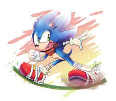 Sonic Boom by Pandalana
