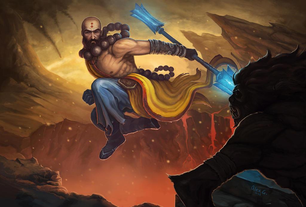 Diablo 3 Monk - Fan Ar...