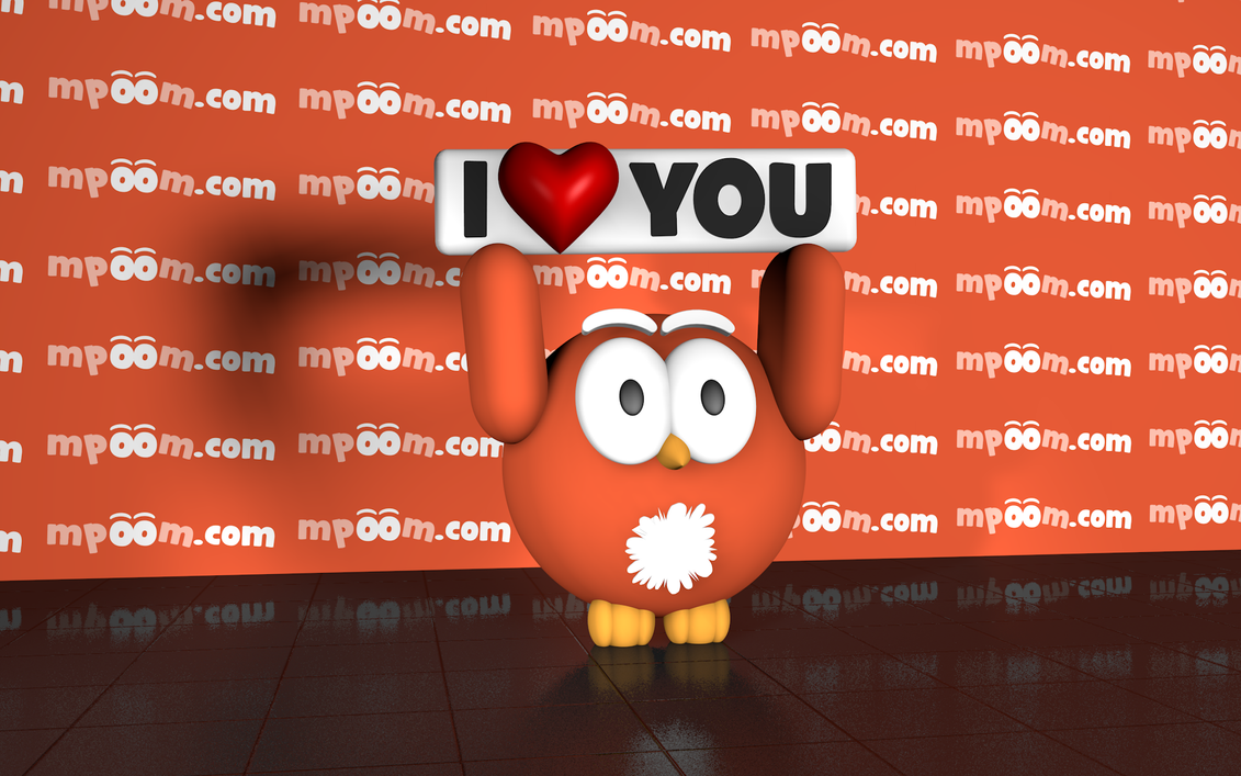 Mpoom! Mascot by tpapatolis