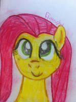 Fluttershy I draw by rcboy17