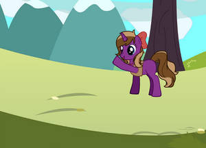 My dear friend Veronika. Made using pony generator