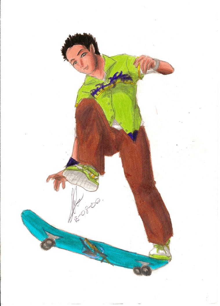 Skate_-_Japanese_-_Boy by yukax-poison