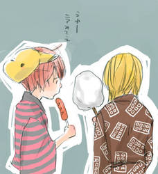 FanArt matt x mello by: mellow by 3mellow-chan