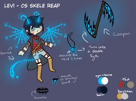 Levi - Sin Reaper CS Ref by Ladyxice-Leesea