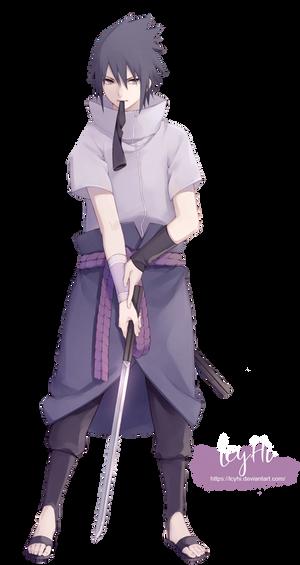Uchiha Sasuke-Render