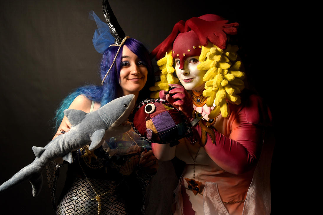 Sharky meet Fishy ! by NiennaSurion