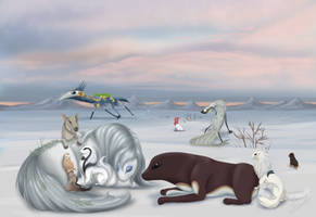 The Polar Overlook - ESK YEH - COMPLETE by Chi-Bird