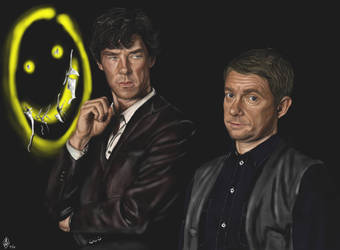 Sherlock and John by Bilou020285