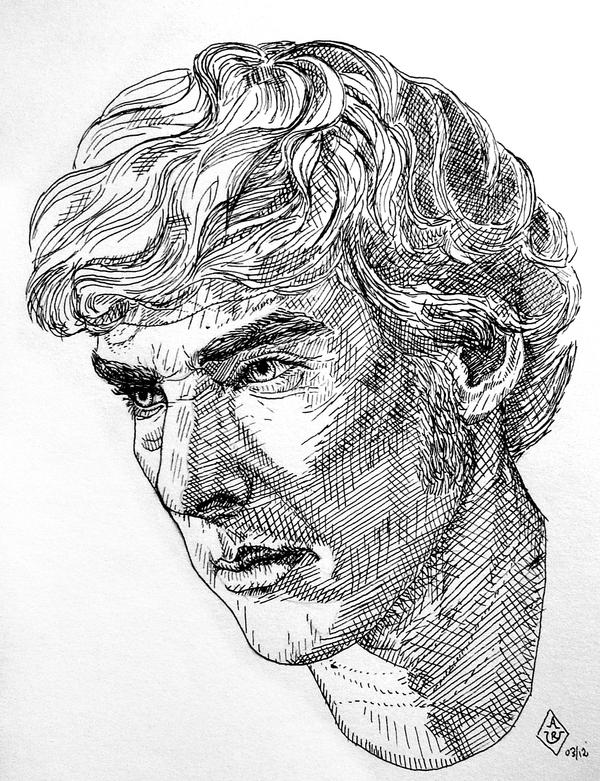 Pen And Ink Illustrations : First attempt of a pen and ink drawing by bilou on