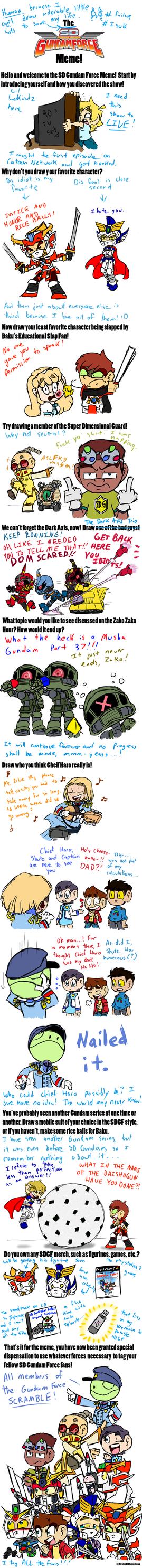 SD Gundam Force Meme by Lokirulz