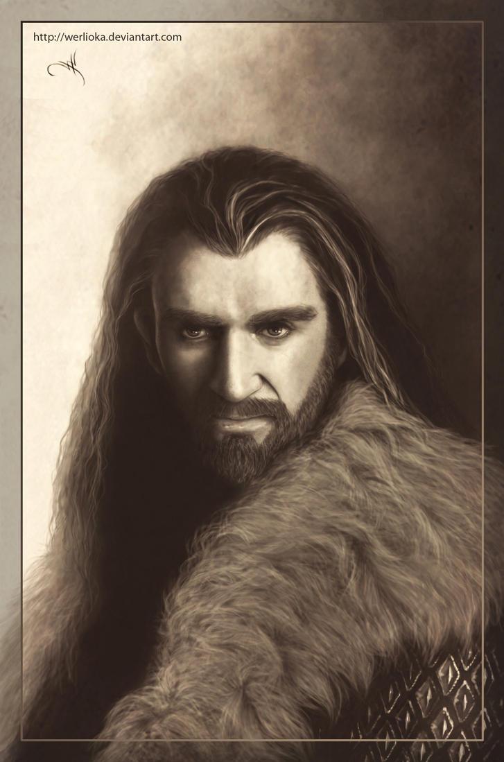 Thorin Oakenshield by Werlioka