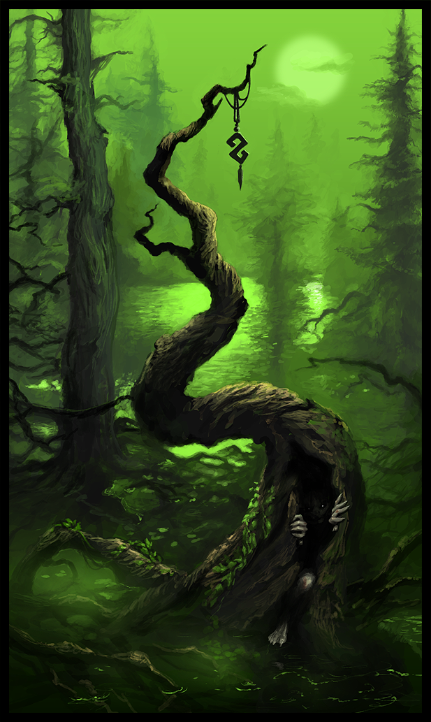Forest by Werlioka