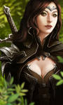 Character Portrait - Vivian (Human Female Warrior)
