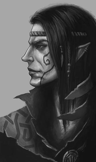 Wild Elf Male Sketch By Werlioka On Deviantart