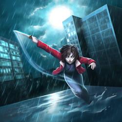 SixFanarts Challenge - Shiki Ryougi