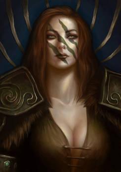 SixFanarts - Aela the Huntress (Skyrim)
