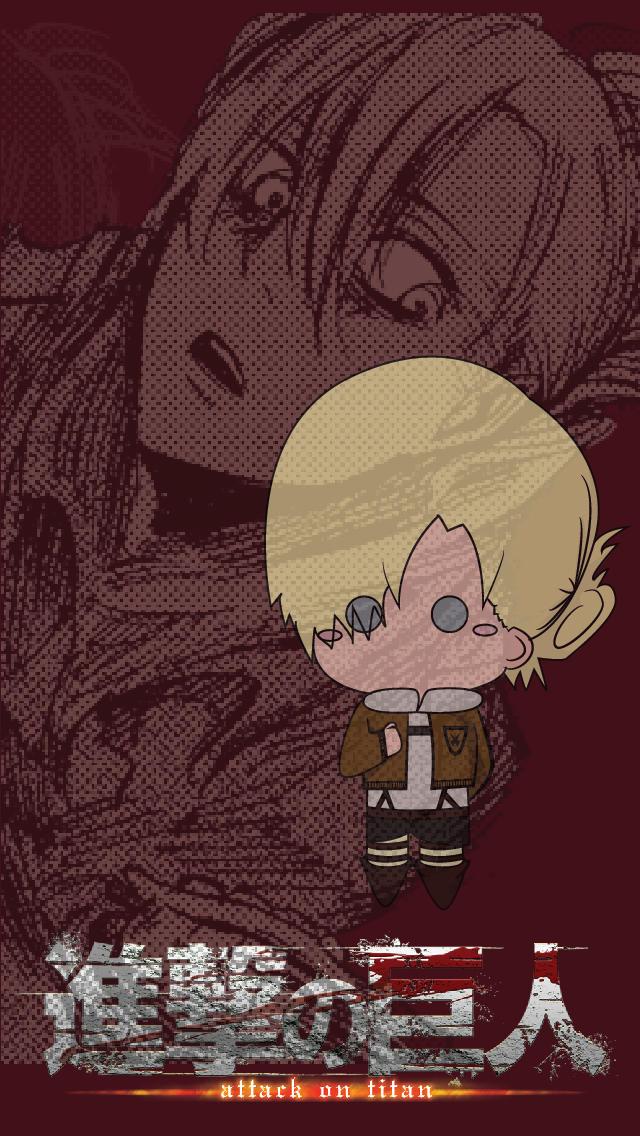 Shingeki No Kyojin Iphone Wallpaper Annie By Summonssniper On Deviantart