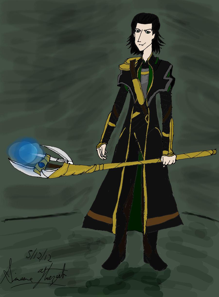 Avengers: Loki by PunkGirl-Simeone