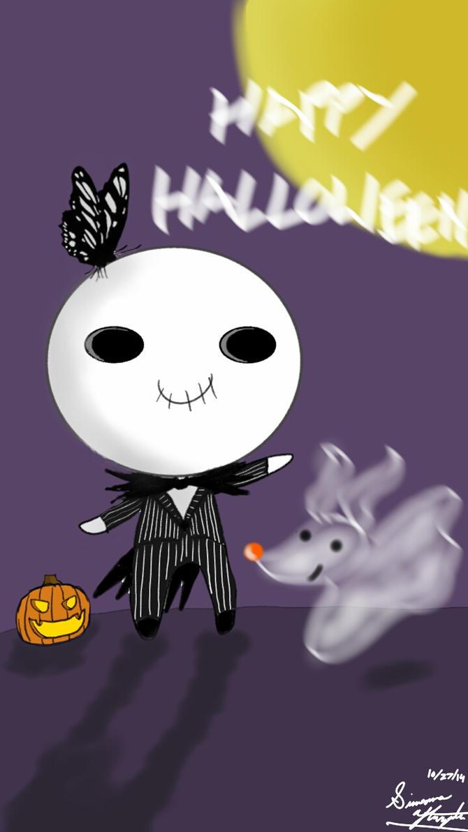 Jack Skellington's Halloween Greeting by PunkGirl-Simeone
