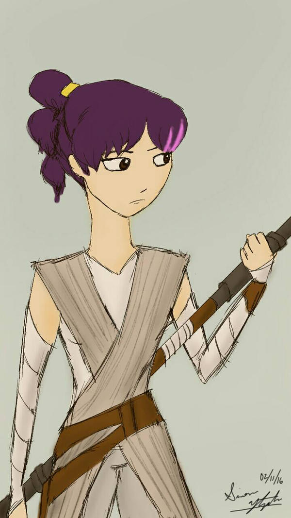 RC9GN/Star Wars Crossover: Theresa Fowler by PunkGirl-Simeone