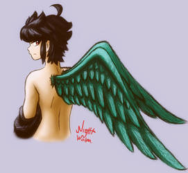 Dark winged angel