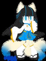 Iroha The Kitsune Fox by AlexRockCat